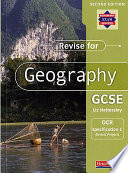 Revise for Geography GCSE OCR Specification C  Bristol Project