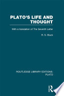 Plato s Life and Thought  RLE  Plato