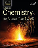 Eduqas Chemistry for A Level Year 1 and AS