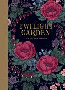Flower Garden 20 Postcards