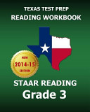 Texas Test Prep Reading Workbook Staar Reading Grade 3