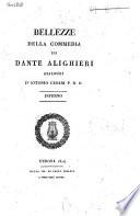 Bellezze della commedia di Dante Alighieri