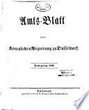 Amtsblatt für den Regierungsbezirk Düsseldorf