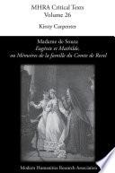 'Eugénie et Mathilde, ou Mémoires de la famille du Comte de Revel', by Madame de Souza