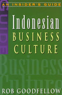 Indonesian Business Culture In The Asia Pacific Region Increasing Numbers