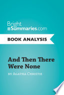 And Then There Were None by Agatha Christie  Book Analysis