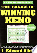 Basics Of Winning Keno : the dinner table. fifteen chapters outline...