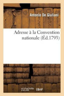 Adresse a la Convention Nationale