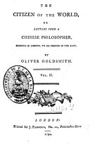 download ebook the citizen of the world or letters from a chinese philosopher, residing in london, to his friend in the east pdf epub