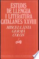 Miscel·lània Germà Colón