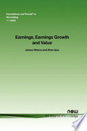 Earnings  Earnings Growth and Value