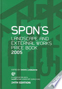 Spon s Landscape and External Works Price