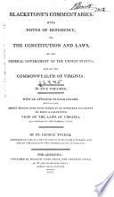Blackstone s Commentaries