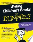 Writing Children's Books For Dummies Writing One But Is It Actually Possible