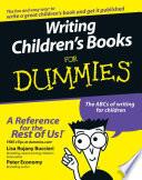 Writing Children S Books For Dummies