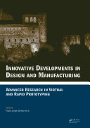 Innovative Developments in Design and Manufacturing Book