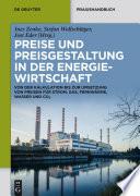 Preise und Preisgestaltung in der Energiewirtschaft