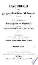 Hausbuch des geographischen Wissens