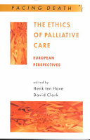 The ethics of palliative care
