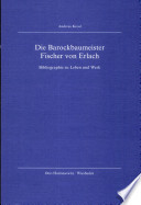 Die Barockbaumeister Fischer von Erlach
