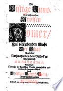 Die listige Juno  Wie solche von dem grossen Homer im vier zehenden Buche der Ilias abgebildet  nachmals von     Eustathius ausgel  get  Numehr in Teutschen Verser vorgestellet und mit Anm  rckungen erkl  hret durch C  H  Postel   With the Greek text of the Iliad  XIV  153 363