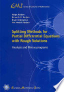 Splitting Methods for Partial Differential Equations with Rough Solutions