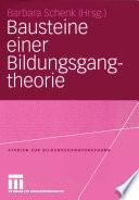Bausteine einer Bildungsgangtheorie