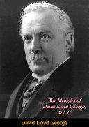 War Memoirs of David Lloyd George