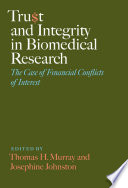 Trust and Integrity in Biomedical Research