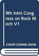 Ninth international congress on rock mechanics  Paris  France  25 28 August 1999