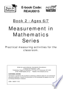 The Measurement in Mathematics Series   ages 6 7