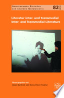 Literatur inter  und transmedial   Inter  and Transmedial Literature