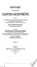 Histoire de la Bibliothèque Sainte-Geneviève