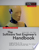 The Software Test Engineer s Handbook
