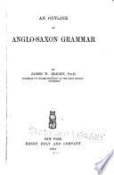 An Outline of Anglo Saxon Grammar