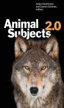 Animal Subjects 2.0 Book