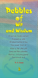 Pebbles Of Wit And Wisdom Book
