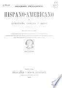 Diccionario Enciclop Dico Hispano Americano De Literatura Ciencias Y Artes Ap Ndice 24 25 Segundo Ap Ndice 26 28