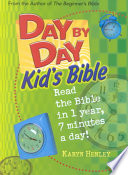 Day By Day Kid S Bible