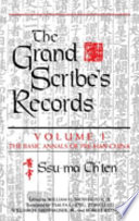 The Grand Scribe's Records: The basic annals of Han China