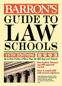Barron s Guide to Law Schools