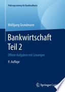 Bankwirtschaft Teil 2