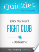 Quicklet On Fight Club By Chuck Palahniuk
