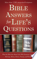 Bible Answers For Life S Questions