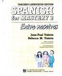 Spanish for mastery  v  2  Entre nosotros