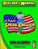 Teacher s Manual  Yo Puedo  Speak English Now