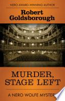Murder  Stage Left