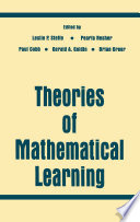 Theories of Mathematical Learning