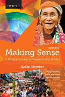 Making Sense in the Social Sciences
