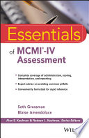 Essentials of MCMI IV Assessment